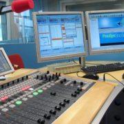 Control y estudio de radio
